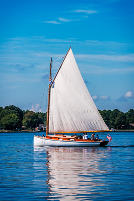 Sailboat on the Miles River