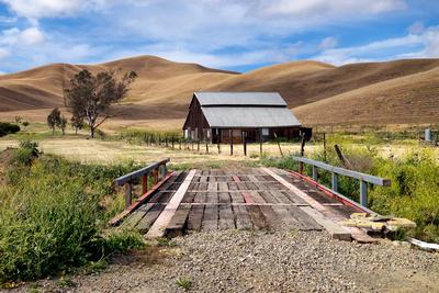 Bridge to Barn Landscape