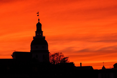 Mike Thomas Photos: Annapolis &emdash; Annapolis Sunset