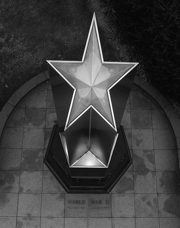 Star Atop Granite Obelisk