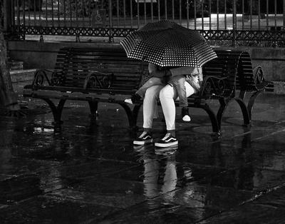 Two Under the Umbrella