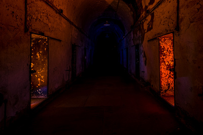 Eastern State Penitentiary Light Painting